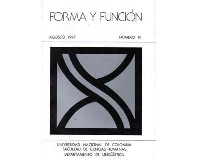 Forma y Función No. 10