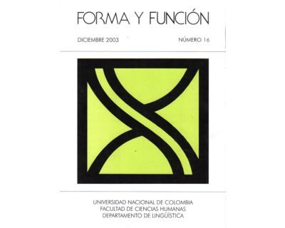 Forma y Función No. 16