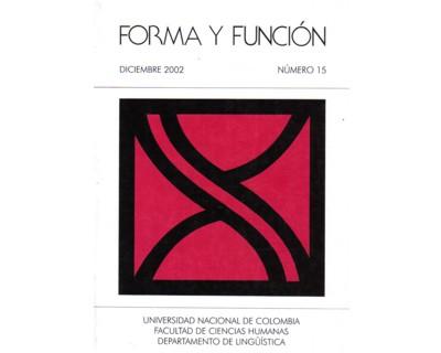 Forma y Función No. 15