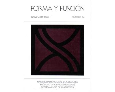 Forma y Función No. 14
