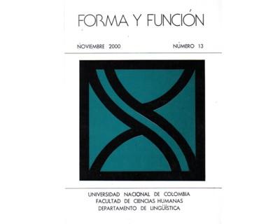 Forma y Función No. 13