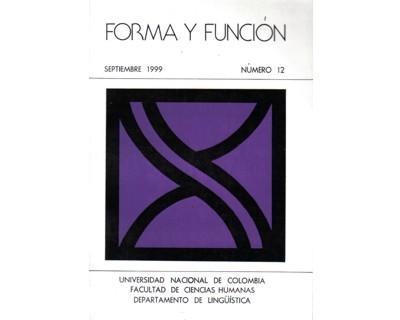Forma y Función No. 12