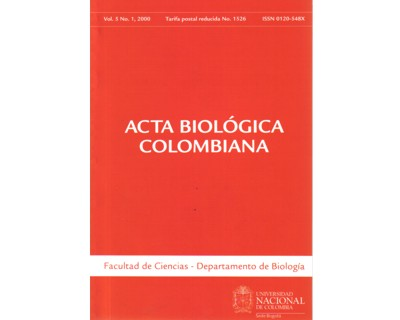 Acta Biológica Colombiana. Vol. 05 No. 1