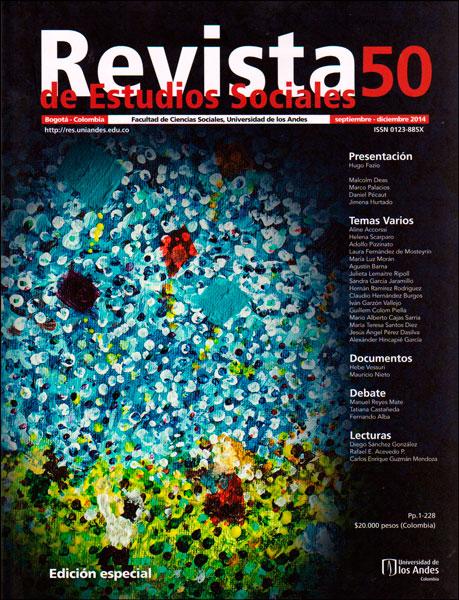 Revista de estudios sociales No. 50. Edición especial