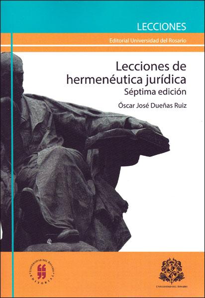 Lecciones de hermenéutica jurídica