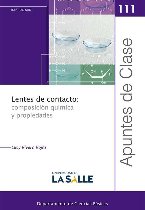 Lentes de contacto: composición química y propiedades. Apuntes de Clase  111