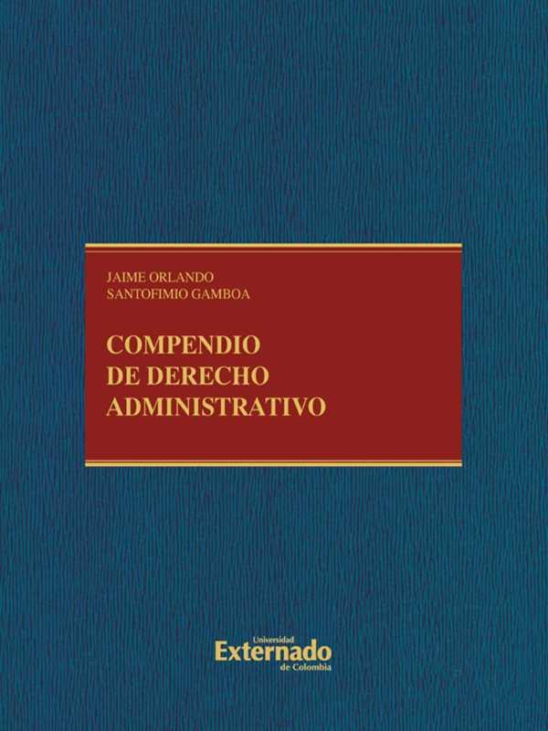 Compendio de derecho administrativo