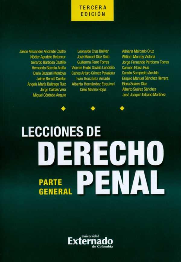 Lecciones de derecho penal: parte general. Tercera edición
