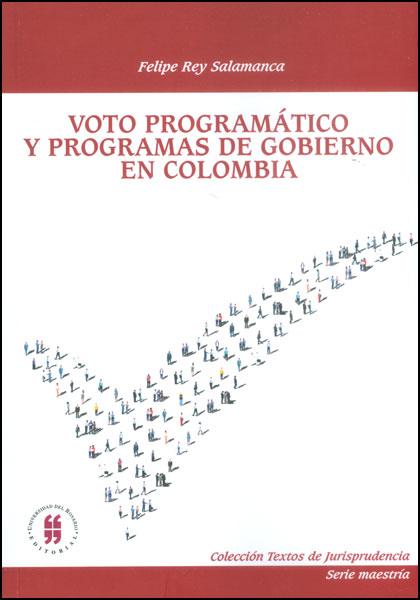 Voto programático y programas de Gobierno en Colombia
