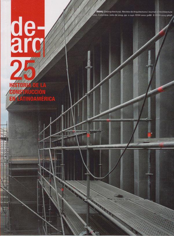 De-arq No.25 Historia de la Construcción en Latinoamérica