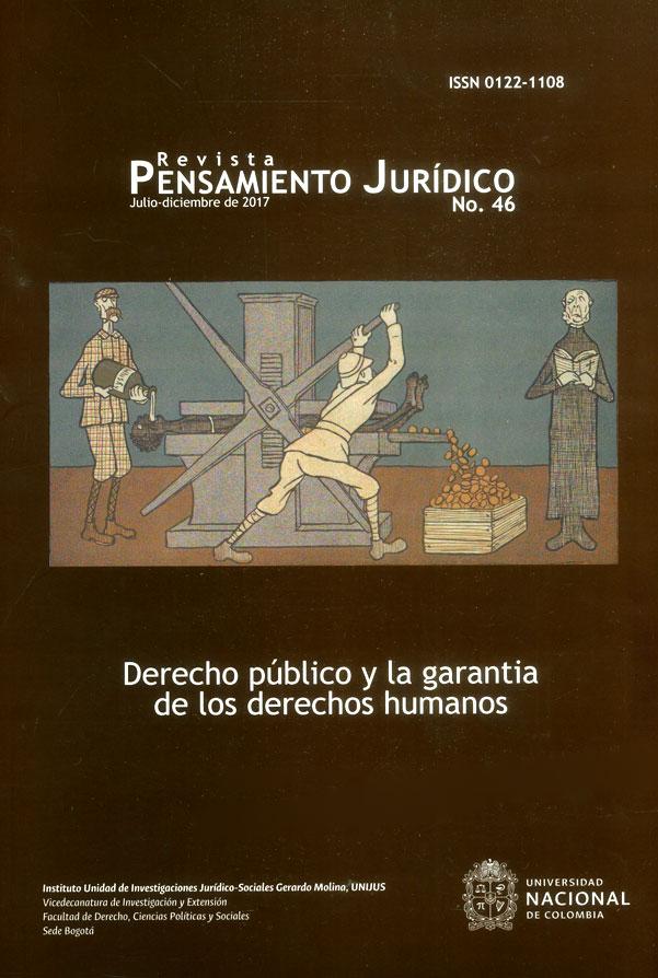 Revista pensamiento jurídico No.46