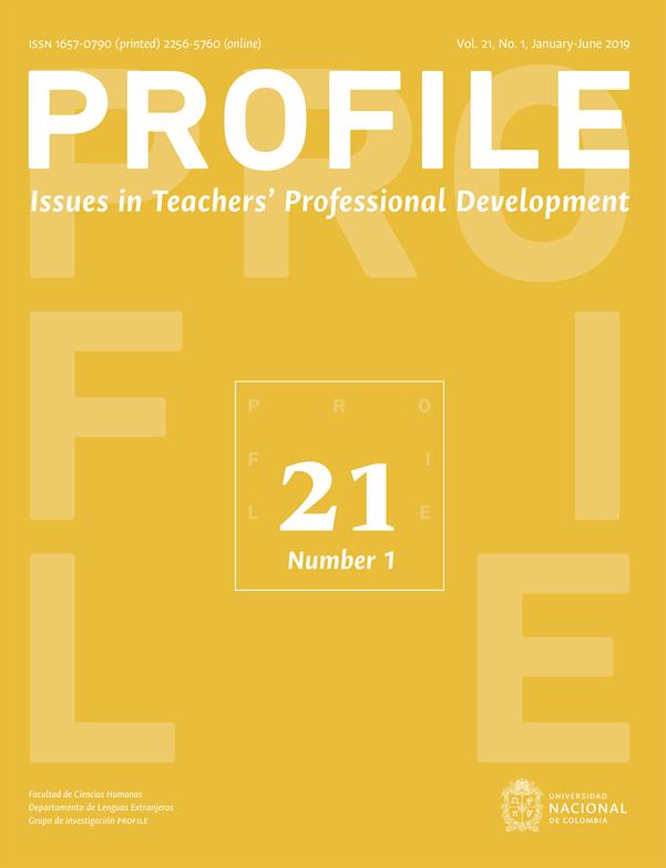 Revista Profile. Issues in Teachers' professional development. Vol.21 N°1