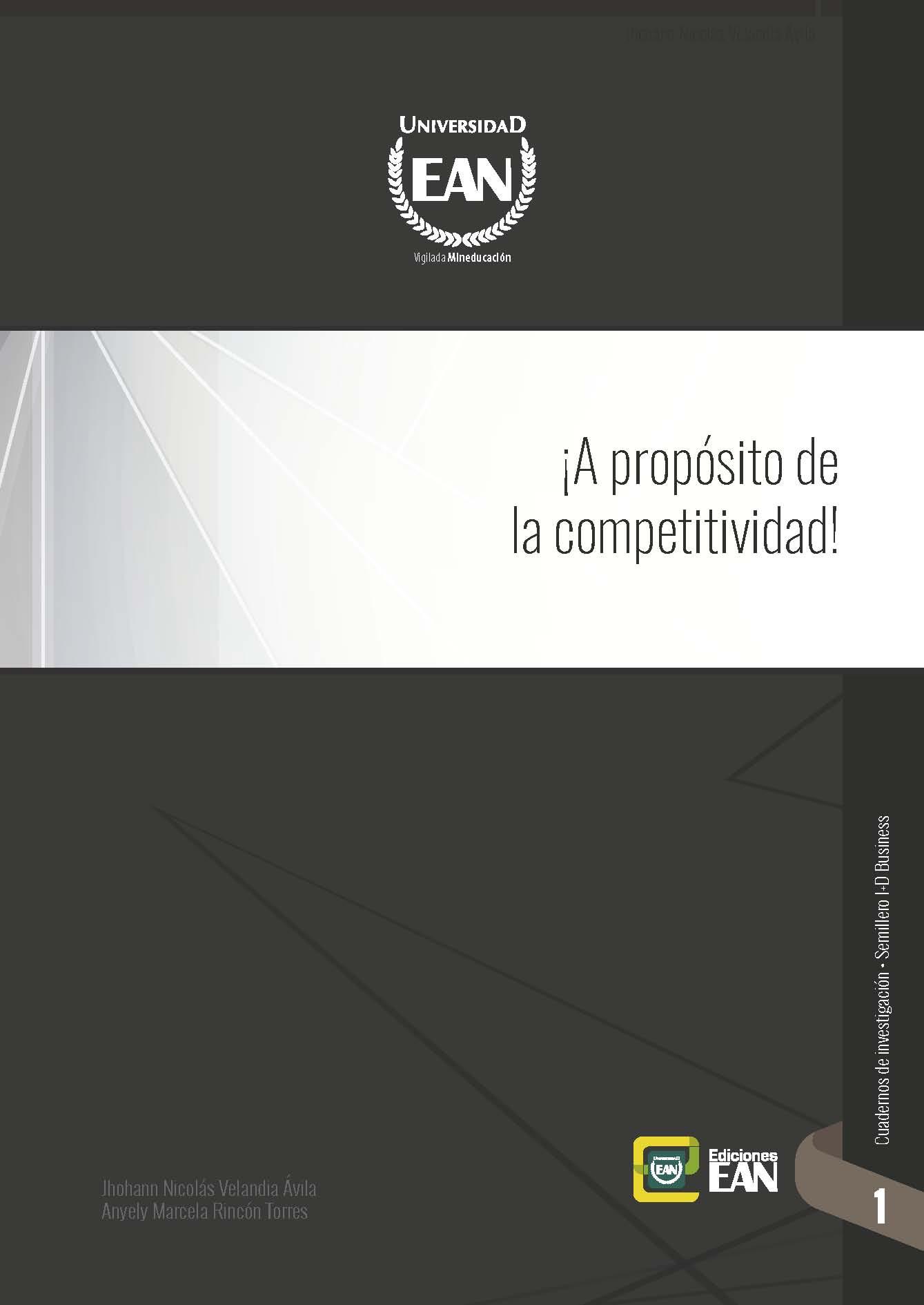 ¡A propósito de la competitividad!