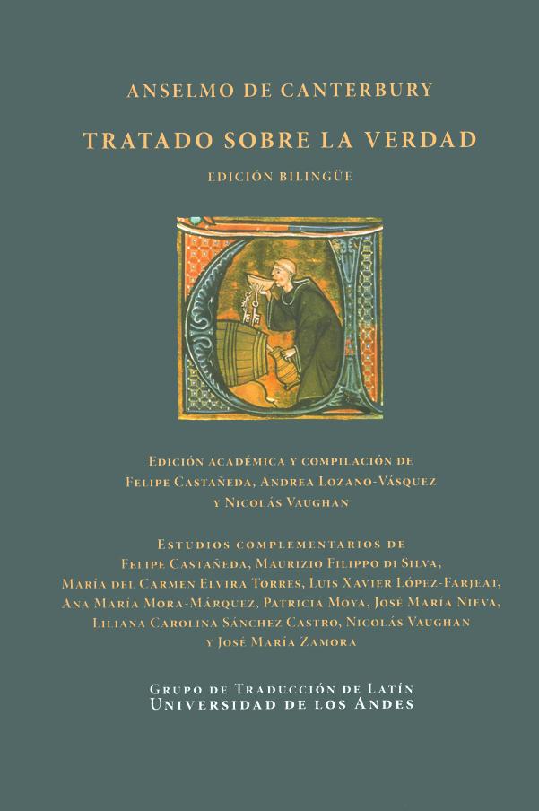 Anselmo de Canterbury. Tratado sobre la verdad. Edición Bilingüe