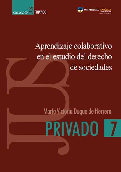 Aprendizaje colaborativo en el estudio del derecho de sociedades