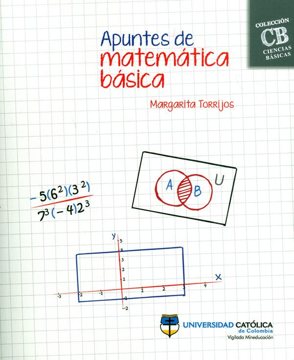 Apuntes de matemática básica. Colección CB