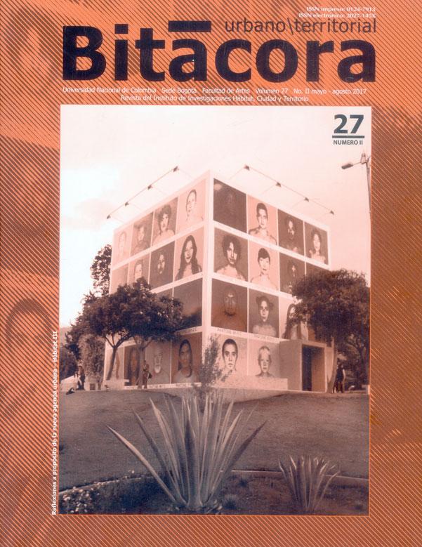 Bitacora urbano/territorial.Vol 27 No 2