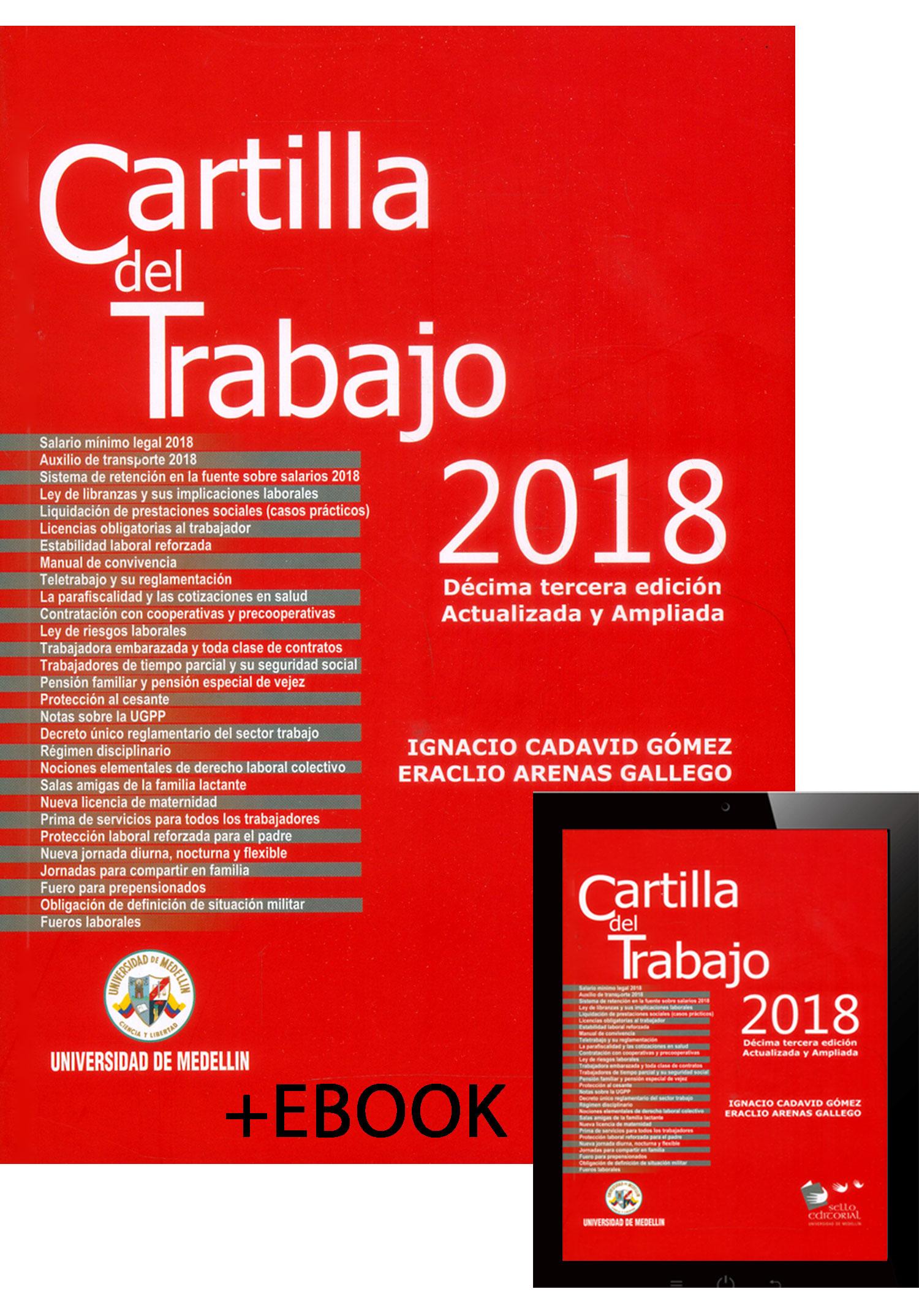 Cartilla del trabajo 2018   Libro Electrónico