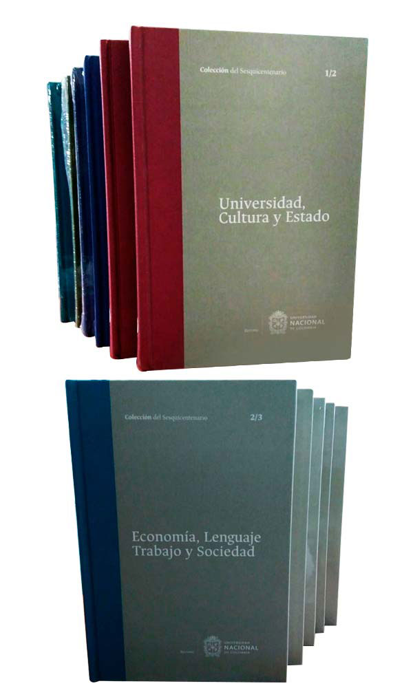 Colección del Sesquicentenario 7 libros - 12 Tomos