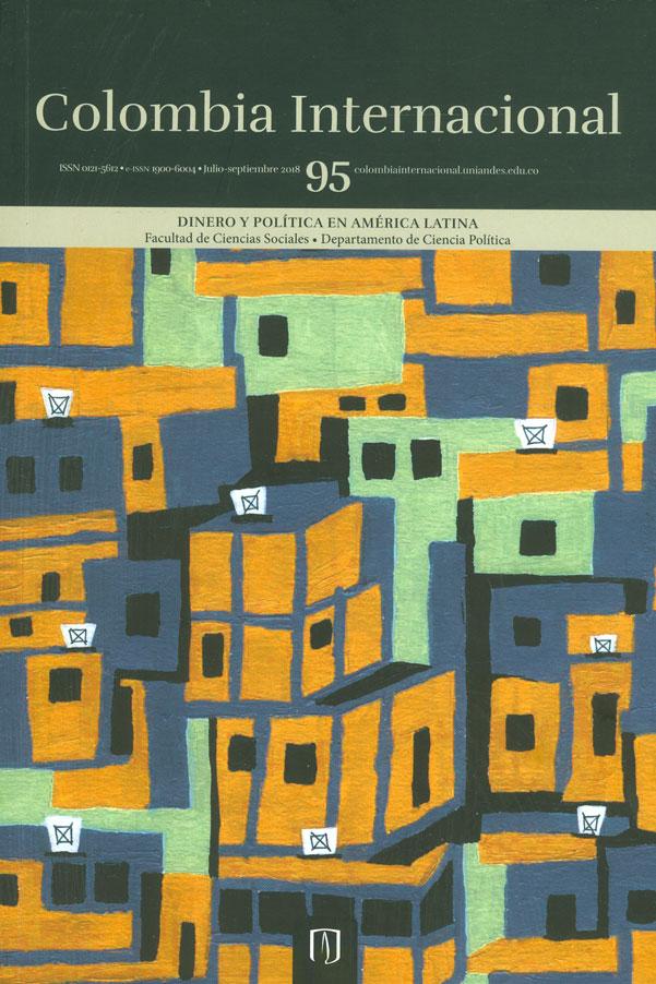 Colombia Internacional No.95. Dinero y política en América Latina