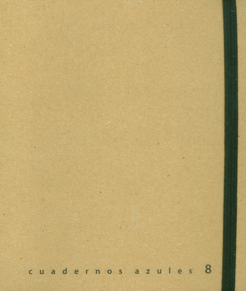 Cuadernos azules No. 8