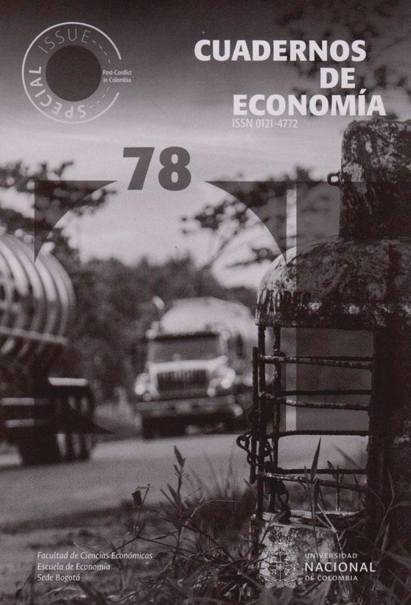 Cuadernos de Economía N°. 78. Post-conflict in Colombia.