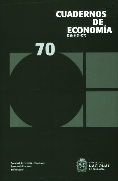 Cuadernos de economía No.70