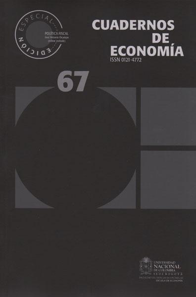 Cudernos de Economía No. 67