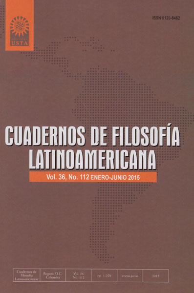Cuadernos de filosofía latinoamericana Vol. 36 No. 112