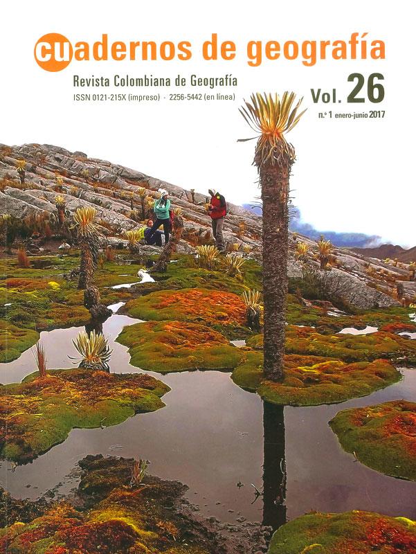 Cuadernos de geografía Vol.26 No.1