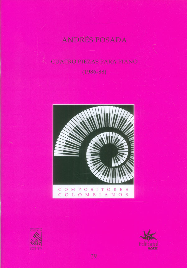Cuatro piezas para piano (1986-88)
