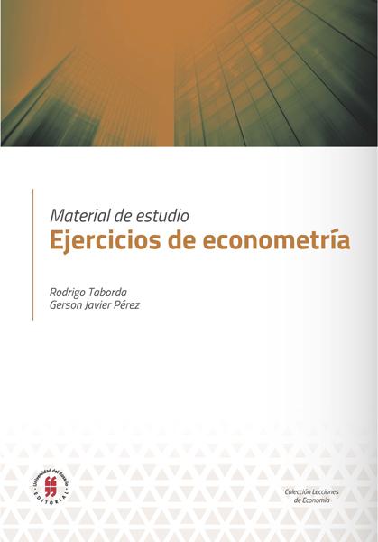Material de estudio. Ejercicios de econometría
