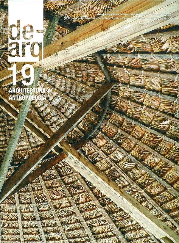 Revista dearquitectura:Arquitectura y antropología No.19