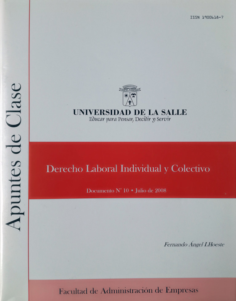 Derecho laboral, individual y colectivo