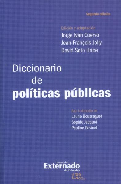 Diccionario de políticas públicas - 2da. Edición