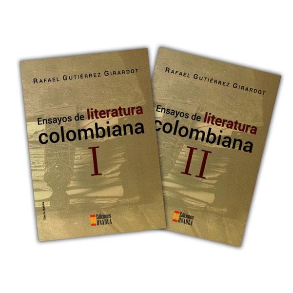 Ensayos de literatura colombiana 2 tomos