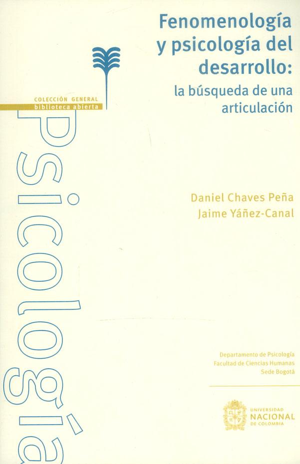 Fenomenología y psicología del desarrollo: la búsqueda de una articulación