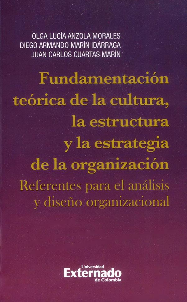 Fundamentación teórica de la cultura, la estructura y la estrategia de la organización: Referentes para el análisis y diseño organizacional