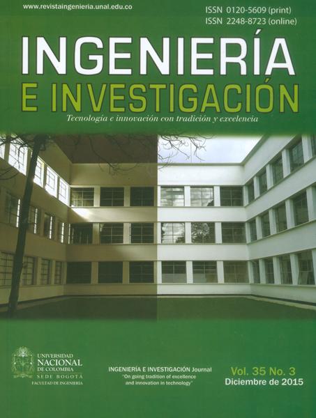 Ingeniería e Investigación Vol.35 No.3