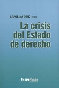 La crisis del estado de derecho