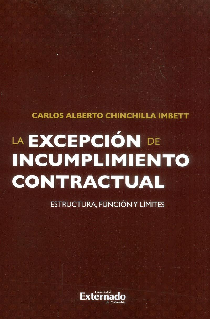 La excepción de incumplimiento contractual: Estructura, función y límites