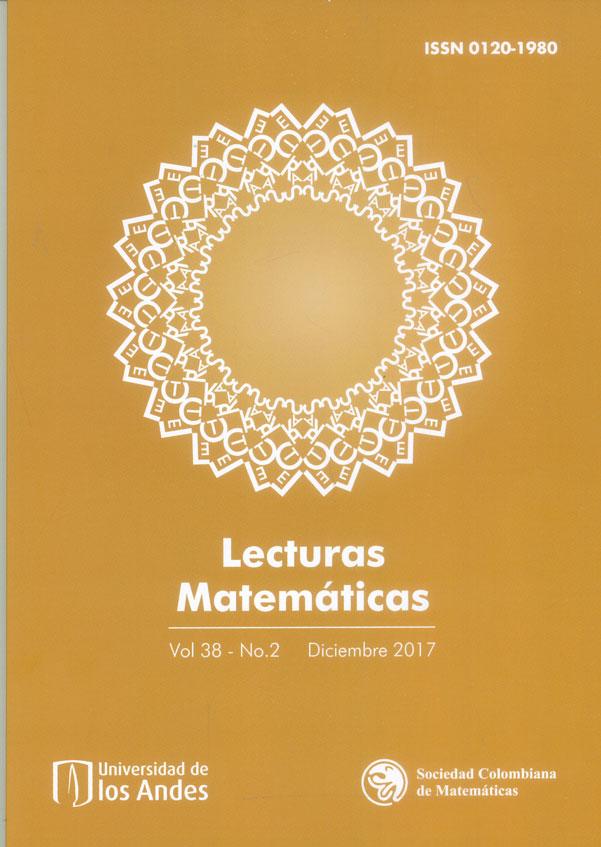 Lecturas Matemáticas Vol. 38 No. 2