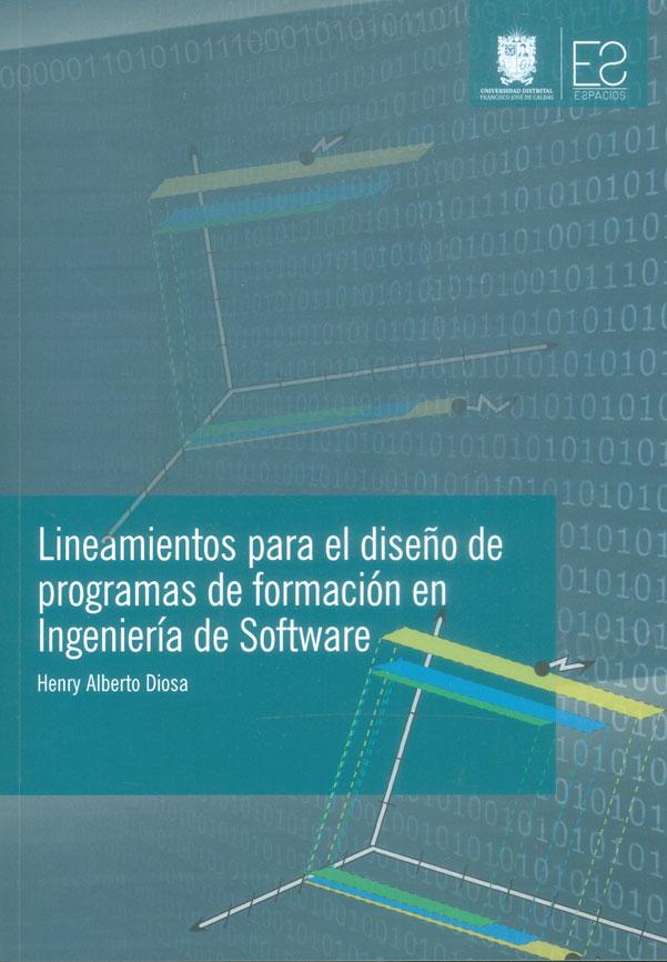 Lineamientos para el diseño de programas de formación en ingeniería de software