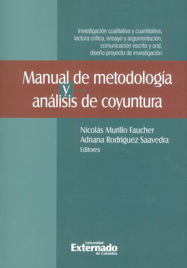 Manual de metodología y análisis de coyuntura