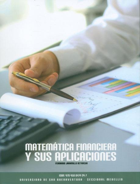 Matemática financiera y sus aplicaciones