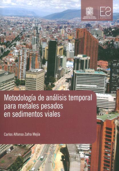 Metodología de análisis temporal para metales pesados en sedimentos viales