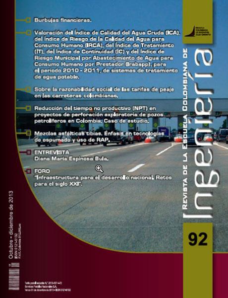 Revista de la Escuela Colombiana de Ingeniería No. 92