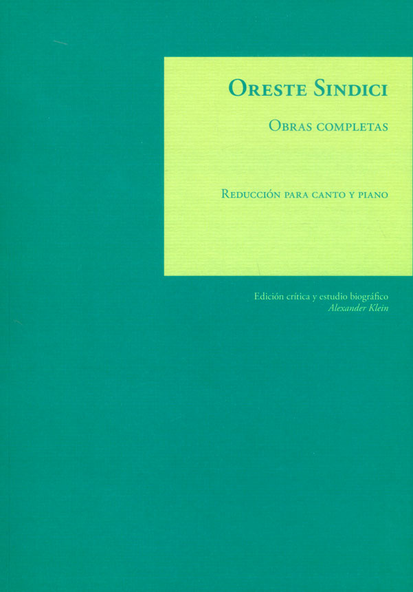 Obras completas: Reducción para canto y piano