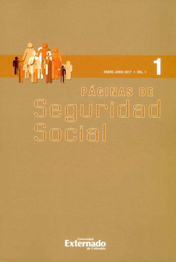 Páginas de Seguridad  Social. Enero-junio 2017 Vol. 1 - No 1