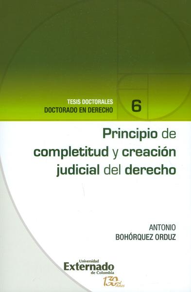 Principio de completitud y creación judicial del derecho